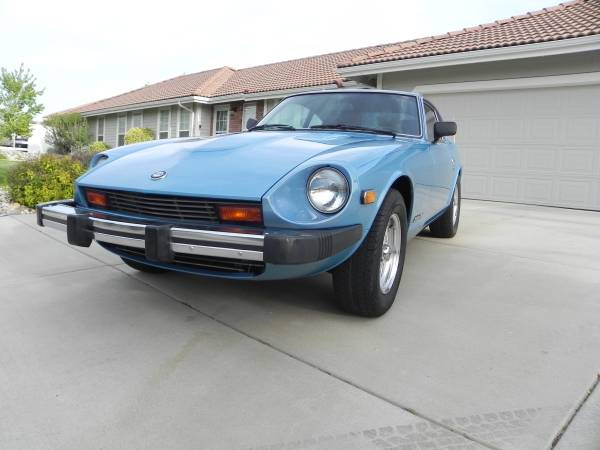 1977 datsun 280z hatchback v6 manual for sale in reno nevada. Black Bedroom Furniture Sets. Home Design Ideas