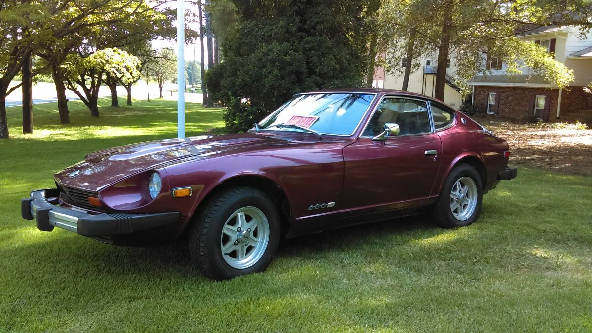 1977 Datsun 280z V6 Manual For Sale In Chapel Hill North Carolina